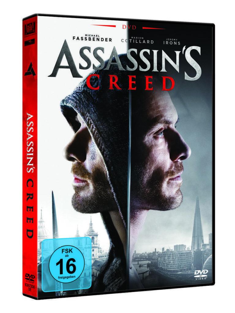 Assassins creed film dvd