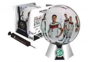 DFB Fussball, Gr. 5, mit Ballpumpe und Aussteller