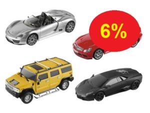 Cartronic ferngesteuertes Auto 6% günstiger kaufen (Lidl)