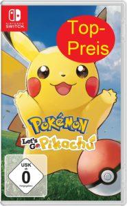 Pokemon Lets Go Pikachu und Lets Go Evoli günstig kaufen