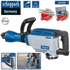 Abbruchhammer Scheppach AB1600 8% billiger kaufen