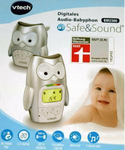 Aldi Nord: vtech Babyphone BM2300 im Eulendesign billig kaufen & Test