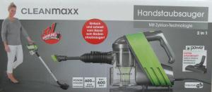 CLEANmaxx Handstaubsauger mit Zyklon-Technologie 600 W ganze 25% günstiger (Netto)