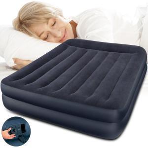 Intex Luftbett mit Luftpumpe