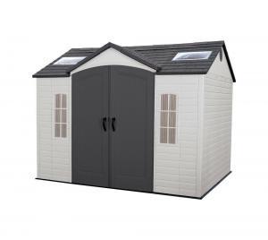 Netto: LIFETIME Gerätehaus Sky 244×305 cm extrem günstig kaufen