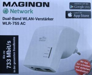 Aldi: Maginon WLAN-Verstärker WLR 755-AC günstig online kaufen