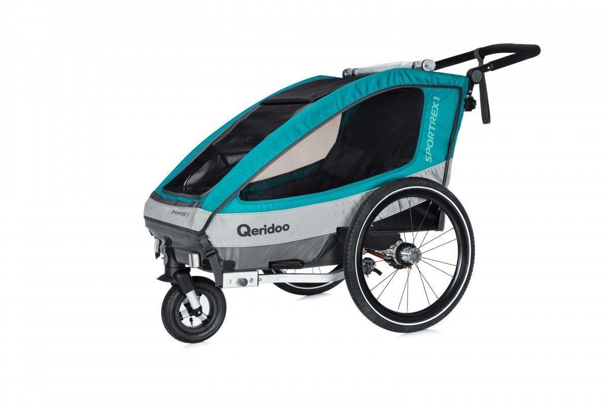 QERIDOO Sportrex1 Fahrradanhänger extrem günstig kaufen (Netto)