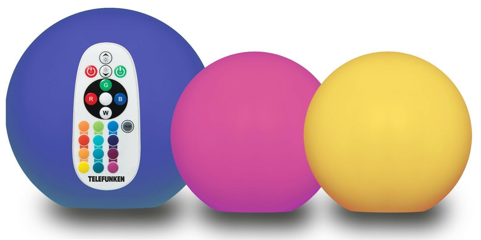 "TELEFUNKEN Solar-Leuchtkugel ""Ball Connectivity"" 3er Set günstig"
