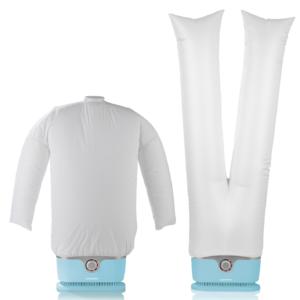 Netto: Cleanmaxx Bügler für Hemden & Hosen Hellblau im Angebot