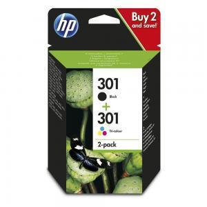HP 301 Tintenpatrone im 2er-Pack