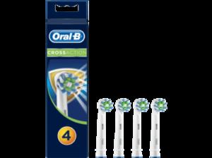 Oral-B Crossaction Bakterienschutz 3+1 Aufsteckbürsten billig kaufen