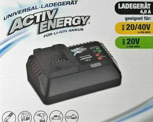 Activ Energy Universal Akku Ladegerät
