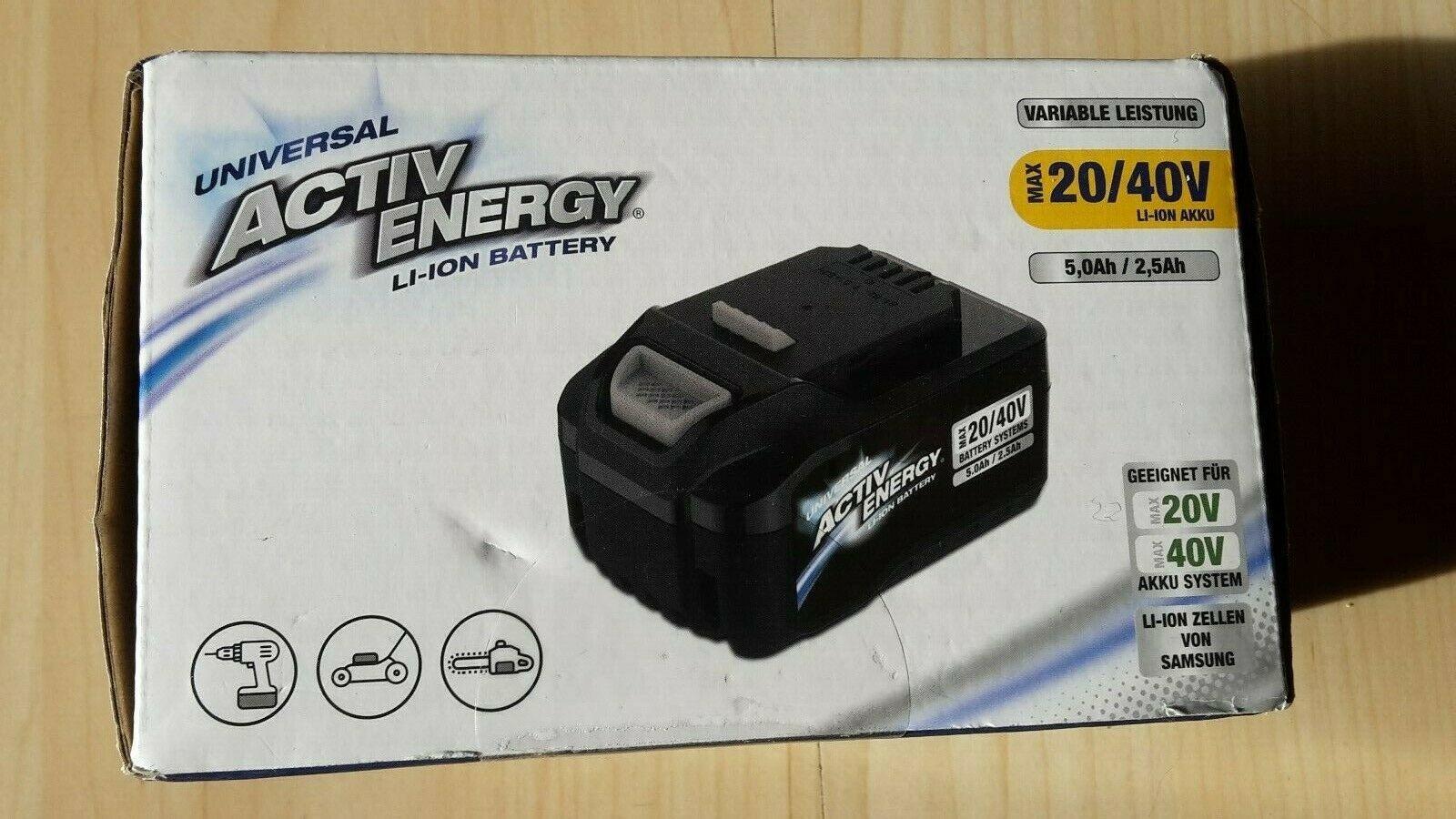 Der Activ Energy Akku 40V