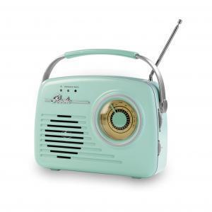 EASYmaxx Radio Retro 6V Mint und Vanille im Angebot bei Netto
