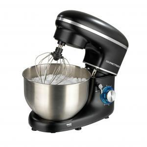 Netto: Gourmetmaxx Küchenmaschine 1500W Rot/Schwarz zum Spottpreis kaufen