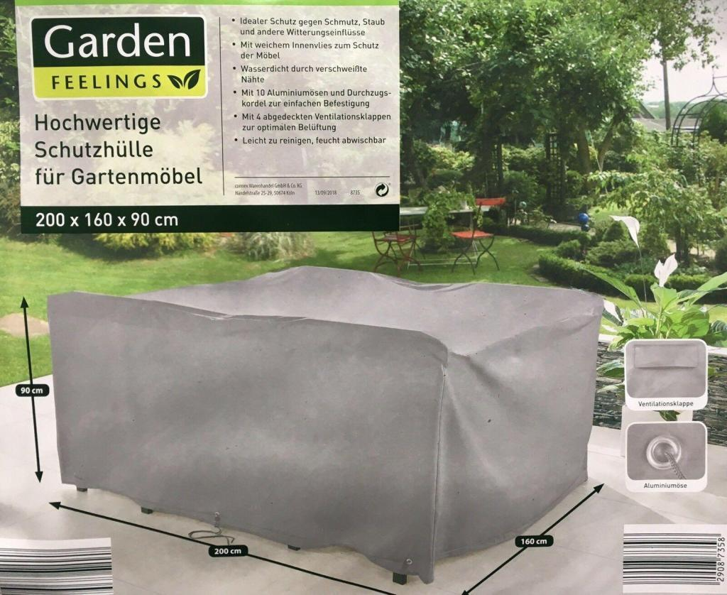 Garden Feelings Schutzhülle für Gartenmöbel 200 x 90 x60 cm
