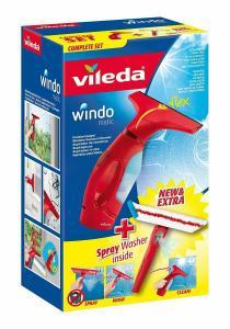 Vileda Fenstersauger Windomatic mit Spray-Einwascher