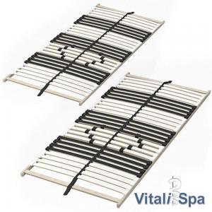 Netto: VitaliSpa 7-Zonen-Lattenrost 2er Set günstig kaufen
