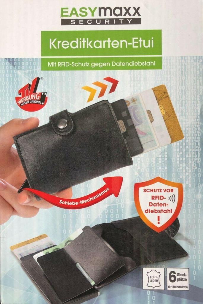 EASYmaxx Security Portemonnaie RFID