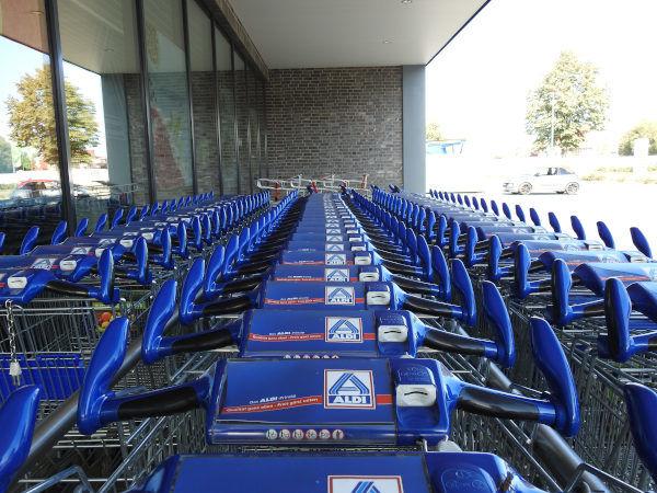 Einkaufswagen Aldi Nord
