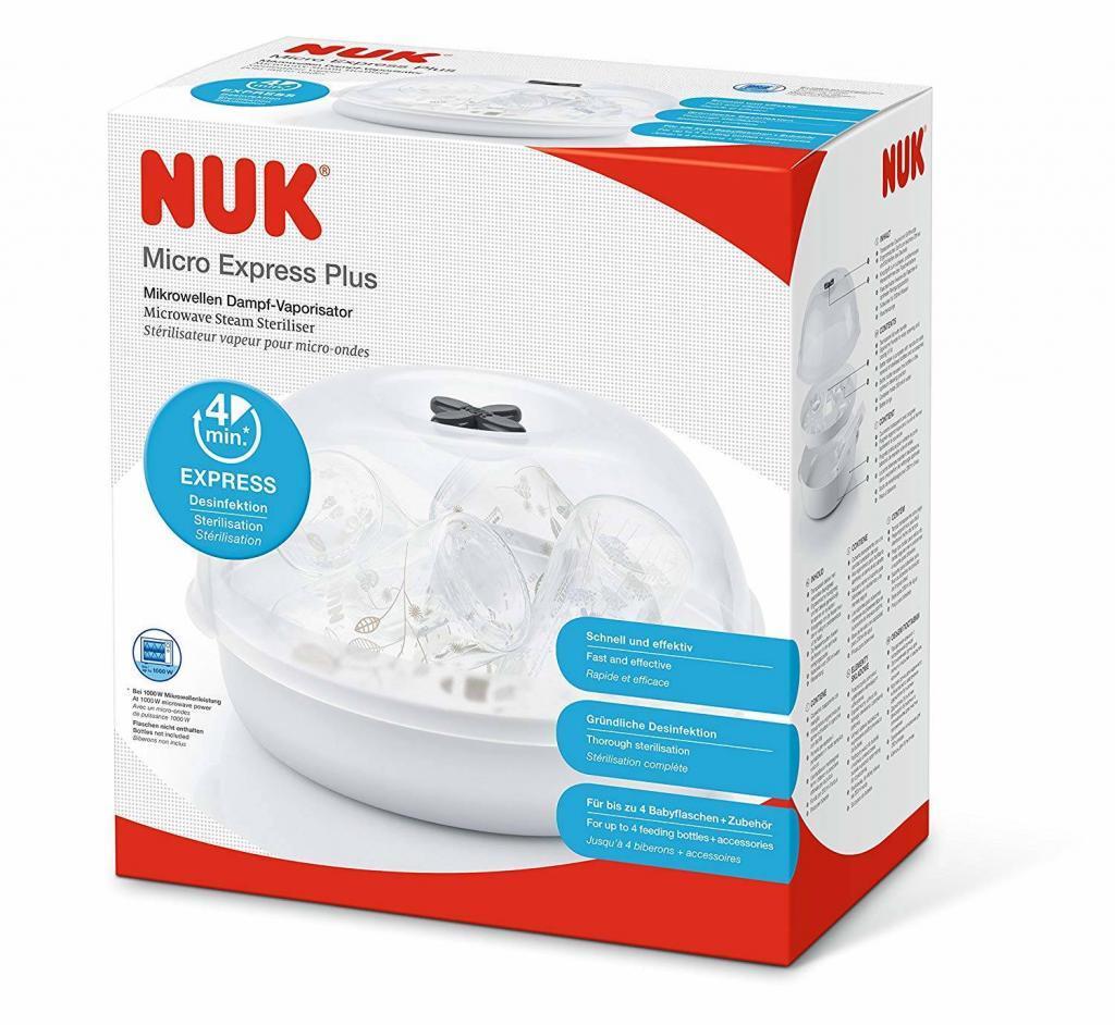 Nuk Micro Express Plus Mikrowellen Dampf-Vaporisator
