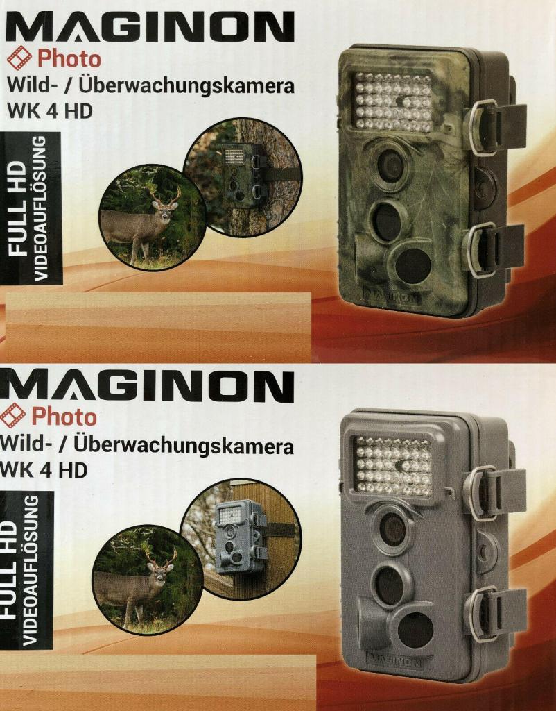 Maginon Wild Überwachungskamera WK 4