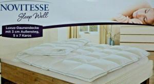 Novitesse Luxus Daunendecke von Aldi Nord: Test, Bewertung und Erfahrungen