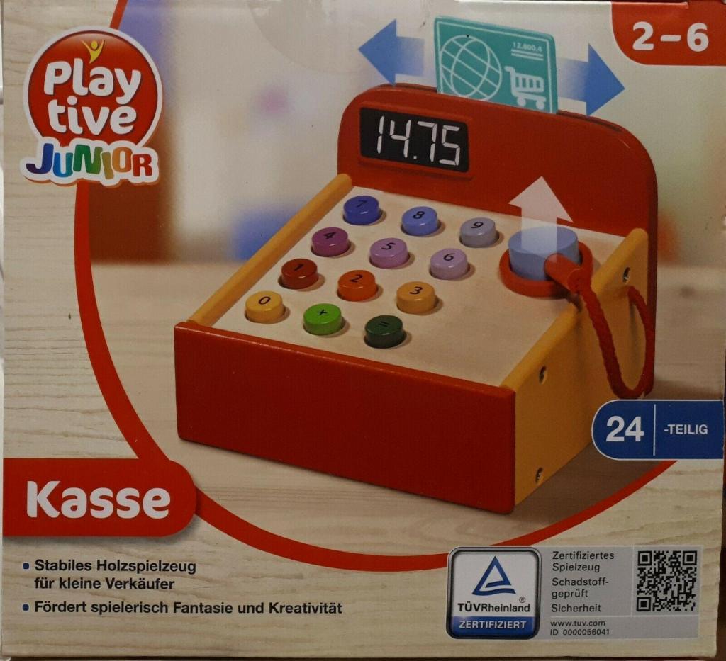 Playtive Junior Kasse für Kaufladen
