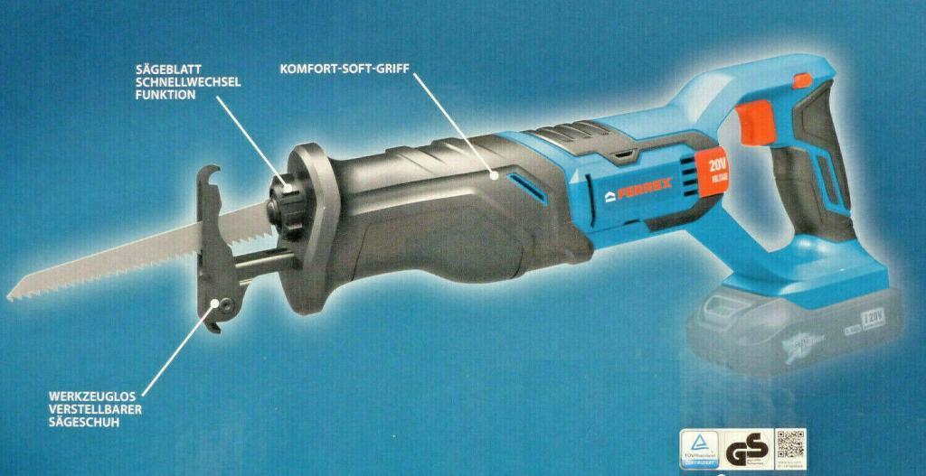 Ferrex 20 V Akku-Säbelsäge