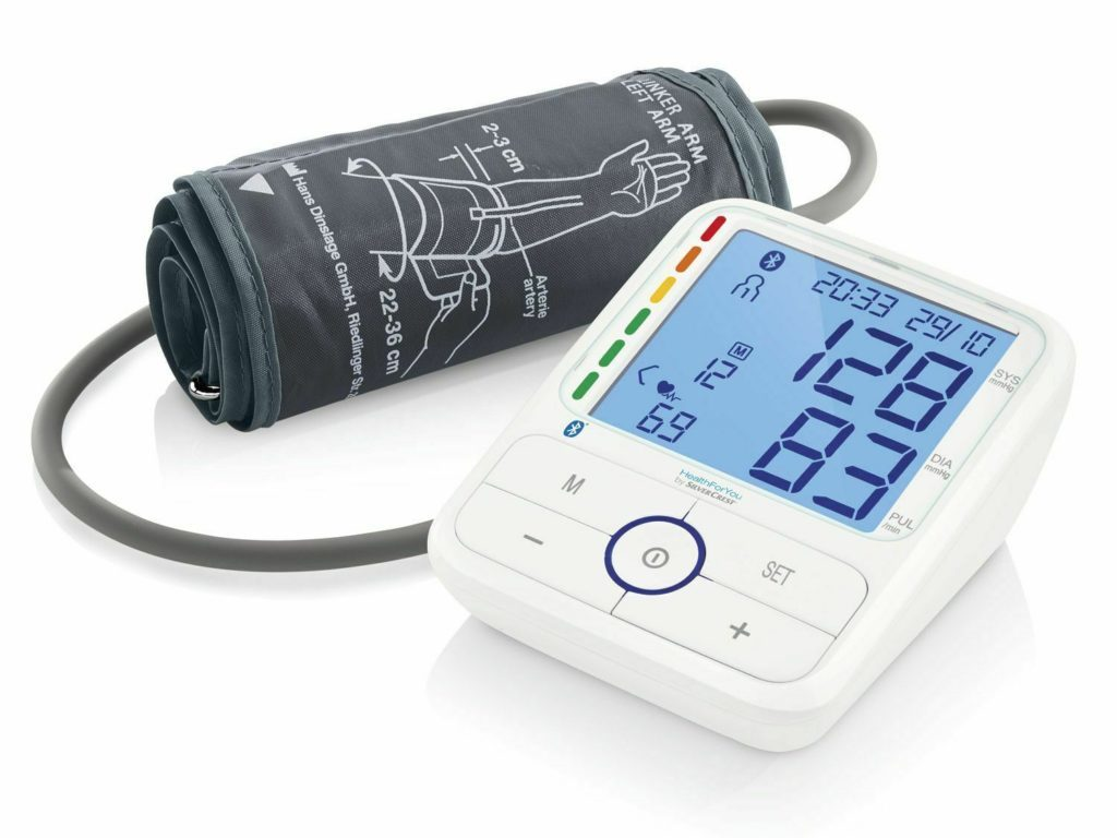 Silvercrest Oberarm Blutdruckmessgerät