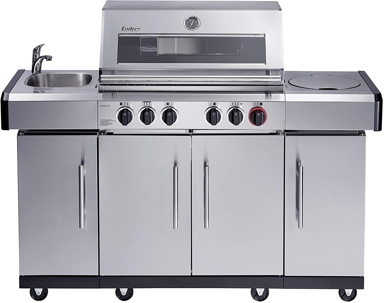 Aldi Outdoor Küche: So kaufst den Enders Kansas Pro 4 SIK Profi Turbo zum kleinen Preis