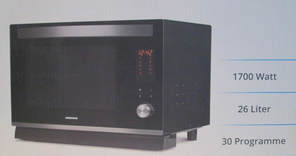 Dampfgarofen MEDION MD 18300