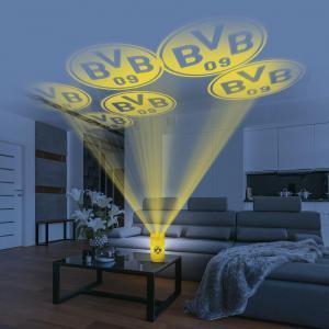 BVB LED-Echtwachskerze Projektor 3V Gelb mit Logo günstig kaufen (Netto)