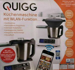 Quigg Küchenmaschine mit WLAN zum besten Preis online kaufen (Aldi)