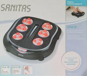SANITAS Shiatsu-Fußmassagegerät SFM 55